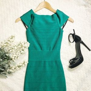 Guess By Marciano XS Dress green bandage